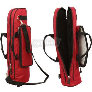 New Nylon padded Trumpet Soft Case Gig Bag Red High Quality