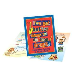 To Do Than Drugs Activity Book 25 pack The Guidance Group Books