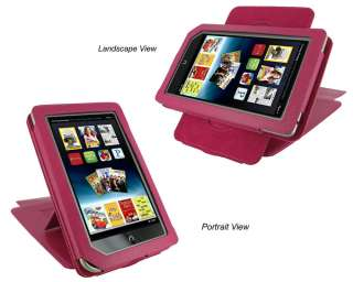 Multi View Leather Case Cover Stand for Nook Color / Tablet