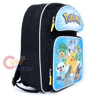 Pokemon Black & White School Backpack Large Bag  16
