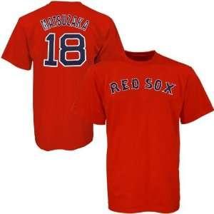 Boston Red Sox #18 Daisuke Matsuzaka Red Preschool Player Name