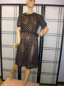 MINI PINK ROSES FLORAL PRINT Secretary Dress PETER PAN COLLAR