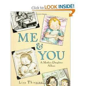 & You A Mother Daughter Album (9780786814336) Lisa Thiesing Books
