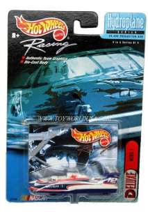 Hot Wheels Racing~HYDROPLANE~Jeremy Mayfield #12 Mobil 1