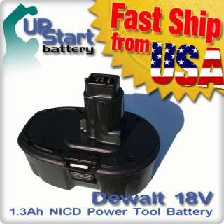 18V 18 Volt BATTERY FOR DEWALT Drill Cordless Tool NiCd