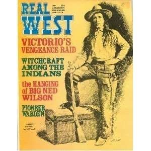 Real West Magazine Apr 1970 Indian Witchcraft Victorio