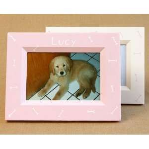 hand painted picture frame   bones Home & Kitchen