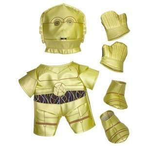 Build A Bear Workshop C 3PO Outfit 6 pc. Toys & Games