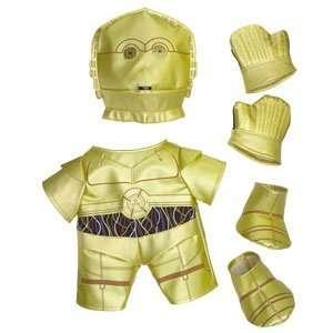 Build A Bear Workshop C 3PO Outfit 6 pc. Toys & Games