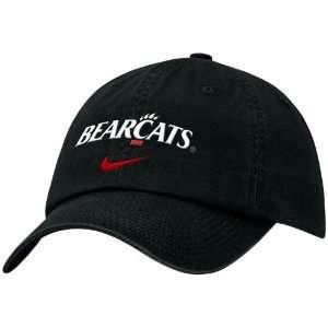 Nike Cincinnati Bearcats Black Campus Adjustable Hat