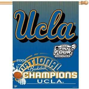 UCLA Bruins 2006 National Champions Vertical Banner