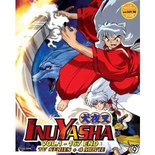 Inuyasha   Complete TV Series DVD Box Set + 4 movies