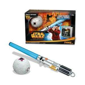 Star Wars Lightsaber Battle Game Toys & Games