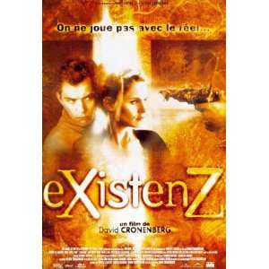 EXISTENZ (LARGE   FRENCH   ROLLED) Movie Poster