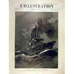 Port Arthur Navy Askold Japanese Ship French Print 1904
