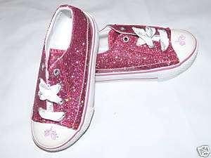 NEW Girl Kids Disney Sneakers Pink Princess Shoes 9 10
