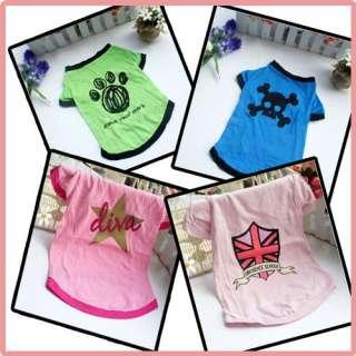 Pet Dog Cat Rabbit Clothes Multiple Series Unique Pattern Cute Apparel