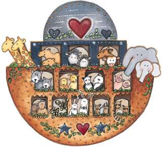 Noahs Ark Animals Ship 25 Wallies Wallpaper Sticker Decal Border Wall