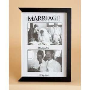 Solid Wood Marriage Picture Frame