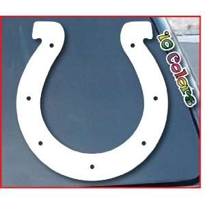 Indianapolis Colts Car Window Vinyl Decal Sticker 7 Tall