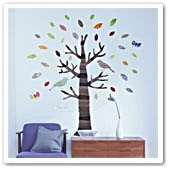 Blossom Flowers Tree Wall Stickers Mural art Decal Self Adhesive