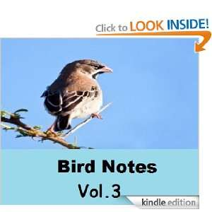 Bird Notes ( Volume 3 ) Foreign Bird Club  Kindle Store