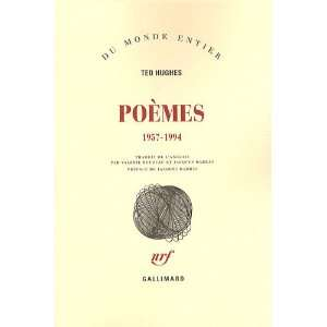Poemes (French Edition) (9782070758654) Ted Hughes Books