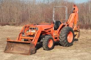 Kubota L3600 GST Tractor Loader Backhoe