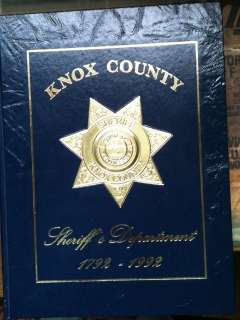 Knox County Tennessee Sheriffs Department 1992 Annual