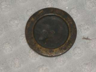 Antique Victorian Balance Scale Weight 2 ounce 1800s