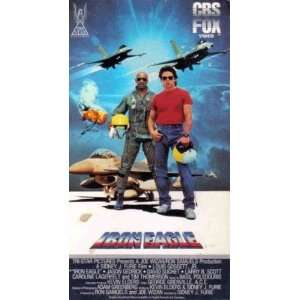 Iron Eagle [VHS] Louis Gossett Jr., Jason Gedrick, David