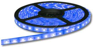 300 SMD BLUE LED FLEXIBLE STRIP LIGHT WATERPROOF   Car/Boat/Marine B