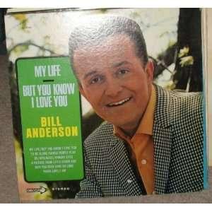 my life (DECCA 75142  LP vinyl record) BILL ANDERSON