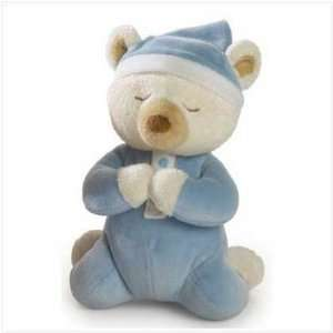 BOYS BLUE PRAYER BEAR BOY PRAYERS STUFFED TEDDY BEARS Toys & Games