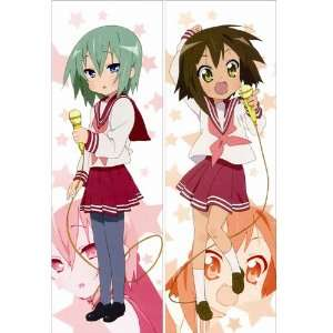 Japanese Anime Body Pillow Anime Lucky Star, 13.4x39.4