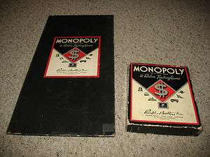 MONOPOLY GAME with board, money, tokens, cards, deeds, houses, hote