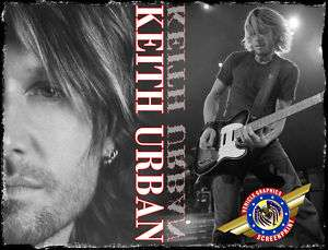 Keith Urban  Rock Star  Personalized T shirts