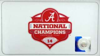 Alabama Crimson Tide 2011 BCS National Champions Knife Steel Warrior
