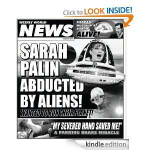Weekly World News 2011 Issue 6: Weekly World News:  Kindle
