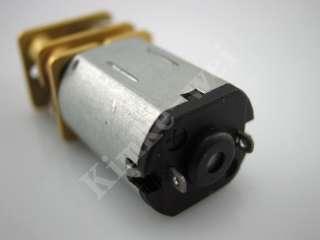 6V 30RPM Torque Gear Box Motor new