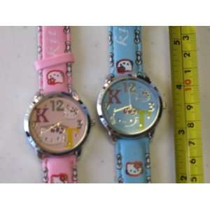 Hello Kitty Quartz Watch 2 Color Pack