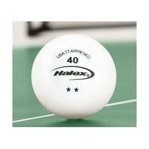 Halex 2 Star Table Tennis Balls