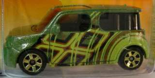 MATCHBOX ★ METRO RIDES ★ NISSAN CUBE MINI VAN ★ 2011 GREEN