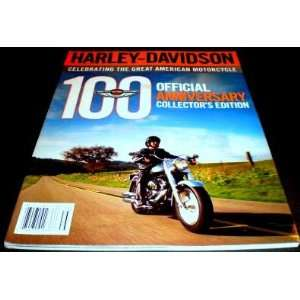 Harley davidson 100th Official Collectors Edition Bob