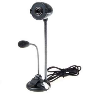 USB 8.0 M 4 LED Webcam Web Camera with MIC for Laptop PC