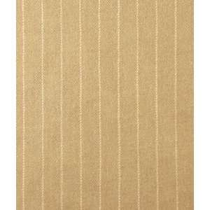 Tan Pinstripe Wool Fabric: Arts, Crafts & Sewing