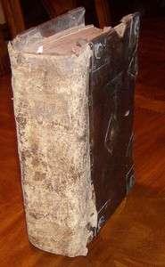 1549 Matthew Folio Bible/Reprint 1st Edition/Wife Beater/ORIGINAL