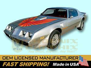 1978 1979 1980 1981 Firebird Trans Am Decal Stripe Kit