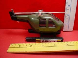 Vintage Toy Tank Vehicle US ARMY HELICOPTER