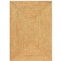 Hand woven Braided Jute Rug (5 x 8)